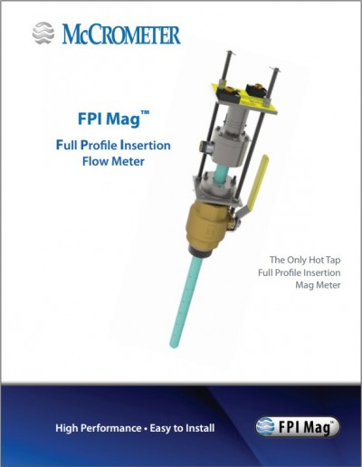 Full Profile Insertion Flow Meter